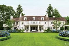 More traditional Architectural Digest -- The Hamptons Southampton, Exterior