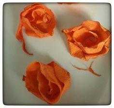 Tutorial per realizzare le Roselline di Zucca | Tra Cucina & Realtà ☺. ☺  ☺
