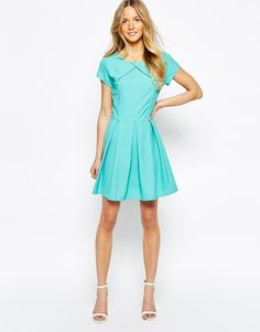 Image 4 ofWal G Skater Dress with Wide Pleats