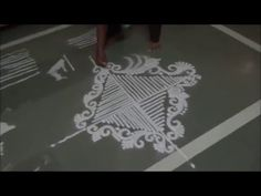 Special Rangoli Design 2 - YouTube