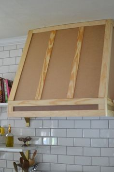 how i built a range hood cover, diy, kitchen design, woodworking projects