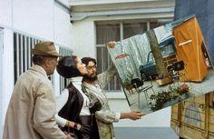 Jacques Tati dans Trafic
