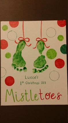 So you've decided to make your own DIY Christmas cards? Well, we have compiled some of the best and easy Christmas card ideas that may inspire you as you make your own holiday card. Christmas Canvas, Diy Christmas Cards, Christmas Card Ideas With Kids, Ideas For Christmas Gifts, Christmas Crafts For Kids To Make Toddlers, Diy Xmas, Grandparents Christmas Gifts, Babies First Christmas, Christmas Baby