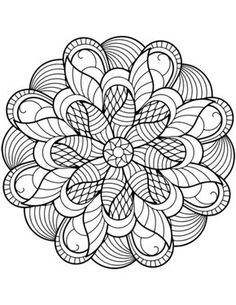 Flower Mandala Adults Coloring Page One Of The Most Popular In Category Explore More Pages Like
