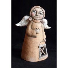 Pottery Angels, Paper Clay Art, Ceramic Angels, Small Sculptures, Sculpture Clay, Ceramic Clay, Clay Projects, Interior Design Living Room, Ceramics