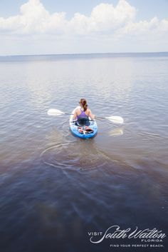 We highly recommend kayaking through one of Dune Allen's three dune lakes. It's the perfect escape!