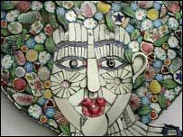 Prairie Thistle: Cleo Mussi - Mosaic Artist Extraordinaire