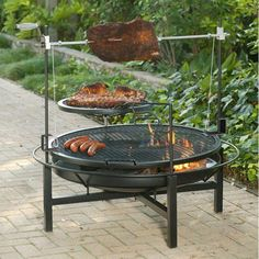 """Fantastic """"fire pit diy metal"""" info is readily available on our website. Take a look and you will not be sorry you did. Fire Pit Grill Table, Cheap Outdoor Fire Pit, Bbq Grill Parts, How To Clean Bbq, Outdoor Tables, Outdoor Decor, Diy Fire Pit, Grilling Recipes, Brick"""