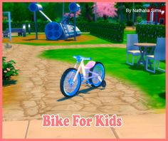 Sims 4 CC's - The Best: Bike for Kids Conversion by Nathaliasims