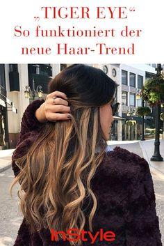 """Balayage-Update: """"Tiger Eye""""- Haare sind der neue Farb-Trend 2017"""