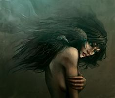 """""""They say she walks alone,   they say she calls the crows   and the crows listen..."""""""