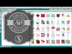 Silhouette Cameo tutorials for beginners Centering one shape inside another, creating a basic shape with a slit and with a tab, welding text and shapes insid... Silhouette Cameo 2, Silhouette Cameo Tutorials, Silhouette School, Silhouette Machine, Silhouette Projects, Silhouette Design, Silhouette America, Silhouette Files, Vinyl Projects
