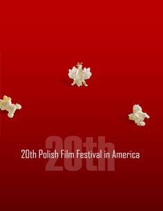 20th Polish Film Festival in America (Chicago). Poster design by Graphica