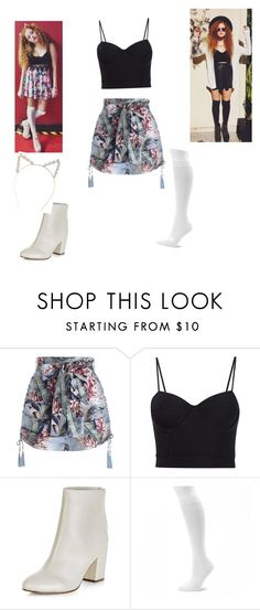 """""""Mahogany Lox"""" by panda7096 ❤ liked on Polyvore featuring Zimmermann, Alexander Wang, New Look and Dr. Motion"""