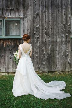 Real Wedding: Bridget+Tyler | Dress: Carol Hannah Azurite | Image: Amy Donohue Photography
