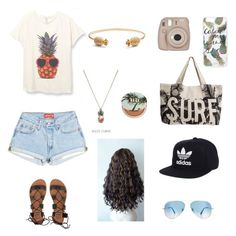 """""""Untitled #50"""" by rebekahdrhodes03 ❤ liked on Polyvore featuring beauty, Sonix, Fujifilm, Rachel Jackson, ASOS Curve, Rip Curl, Billabong, Ray-Ban, Urban Decay and adidas"""
