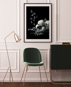 """Happiness - Art print / Bloom by Ami Helena. """"Happiness can only come from you. Cardboard Tubes, Marimekko, Paper Texture, Bloom, Happiness, Art Prints, Chair, Lighter, Painting"""