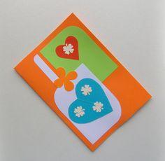 Romantic Cards Love Heart Card Gift For You Love by HVasilevShop Love Cards Handmade, Handmade Gifts, Romantic Cards, Heart Cards, Love You, My Love, Love Heart, Your Cards, Anniversary