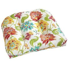 Noonday Floral Cushion Dining Room Table Chair Cushions?