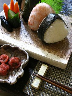Onigiri, or rice balls, are often described as Japan's equivalent of the sandwich.
