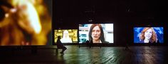 The actress plays multiple roles in Julian Rosefeldt's 'Manifesto' video installation at the Park Avenue Armory.