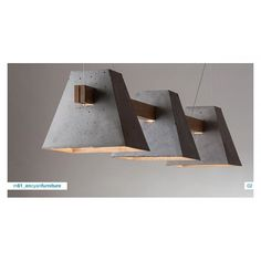 CONCRETE LAMP- Could work in my dining room.