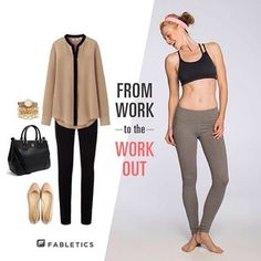 How to take your look from work to #workout in 3 simple steps!