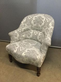 Fauteuil Crapaud Tissu Nutterfly Parade Christian Lacroix
