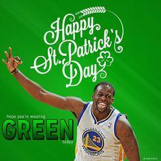 Happy St. Patrick's Day, #DubNation!