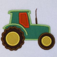 Tractor apliques diseño - 4 tamaños - archivo de diseño de bordado de máquina  Tamaños de diseño ARO 4 X 4 / 3,82 pulgadas de x 2,95 pulgadas / 97 x 75 mm ARO de 5 X 7 / 5,00 pulgadas de x 3,86 pulgadas / 127 mm x 98 mm ARO de 5 X 7 / 5,79 pulgadas de x 4,49 pulgadas / 147 x 114 mm ARO 6 X 10 / 7,01 pulgadas de x 5,43 pulgadas / 178 mm x 138 mm   Debe tener una máquina emroidery para trabajar con estos archivos de diseño.  Todos los diseños optimizados ...