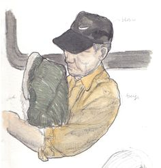 MJ ILLUSTRATES: subway nap