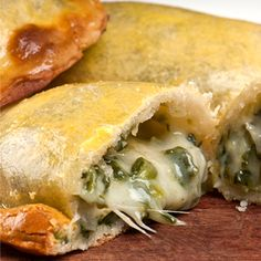 Spinach and Cheese Empanadas Recipe from The Mediterranean Kitchen
