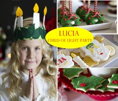 Lucia child of light party