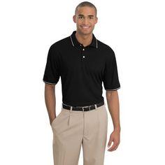 b764ea9d5e1 Add custom printed logo to Nike Golf - Dri-FIT Classic Tipped Polo 391  Anvil Ladies  Sheer Scoop-Neck Tee