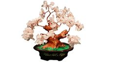 2016 Year of Monkey Chines Feng Shui  Feng Shui Natural Rose Quartz Crystal Money and Love Tree Bonsai Style Decoration for Money and Love >>> This is an Amazon Affiliate link. Check out this great product.
