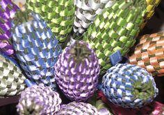 """How to make lavender wands""  Lockwood Lavender Farm: July 2010"