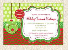 ornaments toys christmas party invitations ornament array