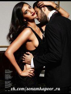 Sonam Kapoor Sexy in Black Bra for GQ Magazine Photoshoot ~ Hottest News 99 Indian Celebrities, Bollywood Celebrities, Bollywood Actress, Beautiful Actresses, Indian Actresses, Actors & Actresses, Sonam Kapoor, Deepika Padukone, Bollywood Wallpaper