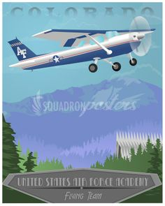 Air Force Academy Flying Team Poster Print from $24, Cessna 150 Cessna 150, Federal Aviation Administration, Air Force Academy, Private Pilot, Air Force Mom, Touring, Poster Prints, Posters, Aircraft