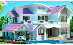Contact us for the contemporary Kerala home designs at sensible price tag.