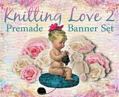 Shop Banner Set  Premade Banner Set  Etsy by LalipopsandDaisies, $20.00