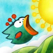 Tiny Wings is a super fun app for kids. from @iTunes
