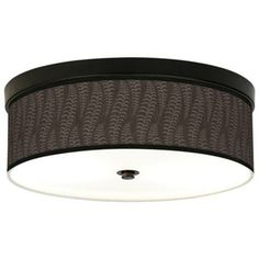 Stacy Garcia Fancy Fern Taupe Bronze CFL Ceiling Light - $149 at Lamps Plus