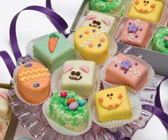 Easter Petits Fours – Petit Fours Online