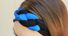 Police Wife Girlfriend Thin Blue Line Head Wrap by BluelineSwag