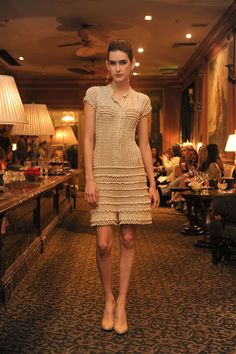 Vanessa Montoro ...crochet dress