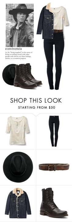 """""""Carl Grimes - twd / the walking dead"""" by shadyannon ❤ liked on Polyvore featuring Quiksilver, STELLA McCARTNEY, R13 and Frye"""