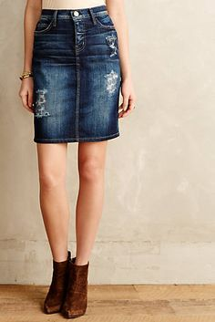 Current/Elliott Stiletto Pencil Skirt