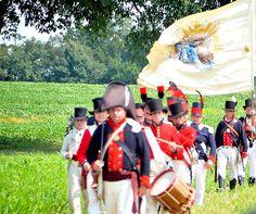 The Battle of Caulk's Field, Kent County, MD. A War of 1812 Bicentennial event.