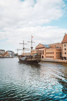 In Gdansk, Poland, along the Baltic Coast.